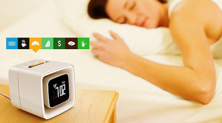焼き立てパンの香りで起こしてくれる「目覚まし時計」Googleも太鼓判! | TABI LABO