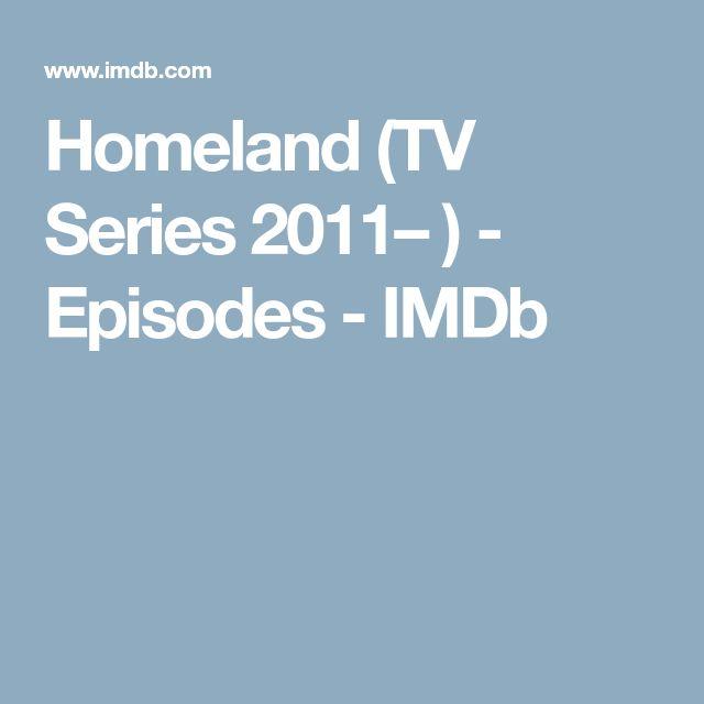 Homeland (TV Series 2011– ) - Episodes - IMDb