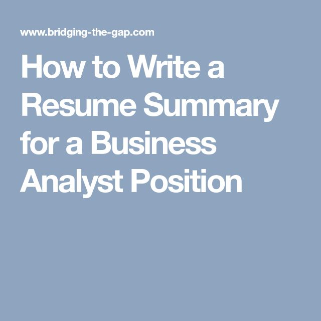 The 25+ best Business analyst ideas on Pinterest Business - business analyst resume samples