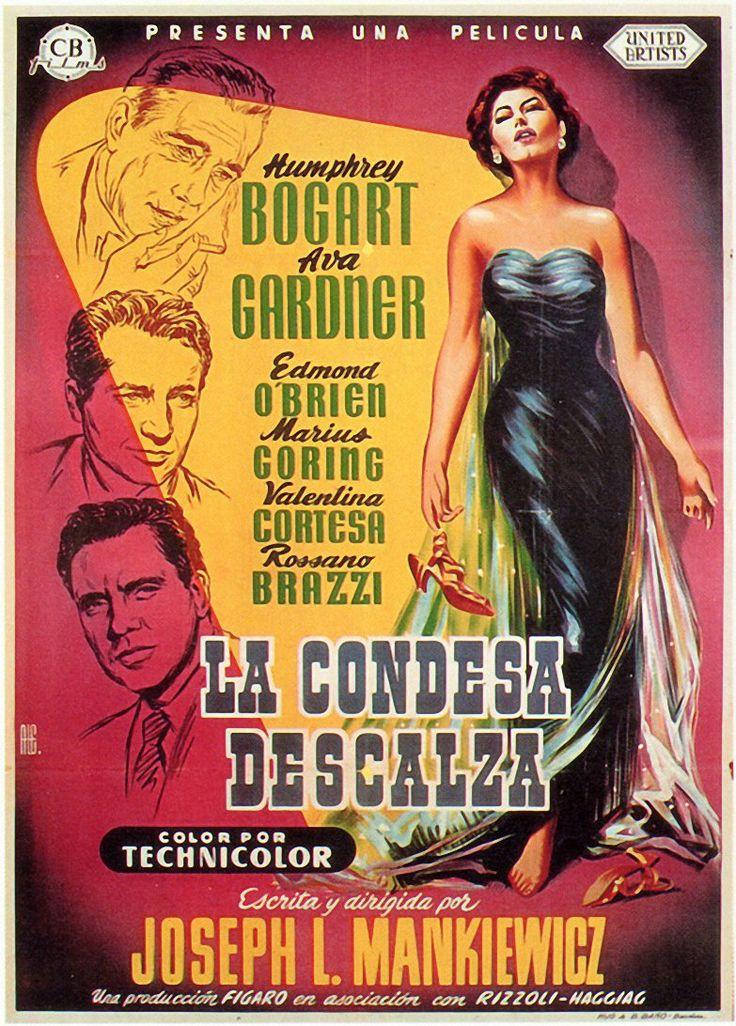 1954 / La Condesa descalza - The Barefoot Contessa