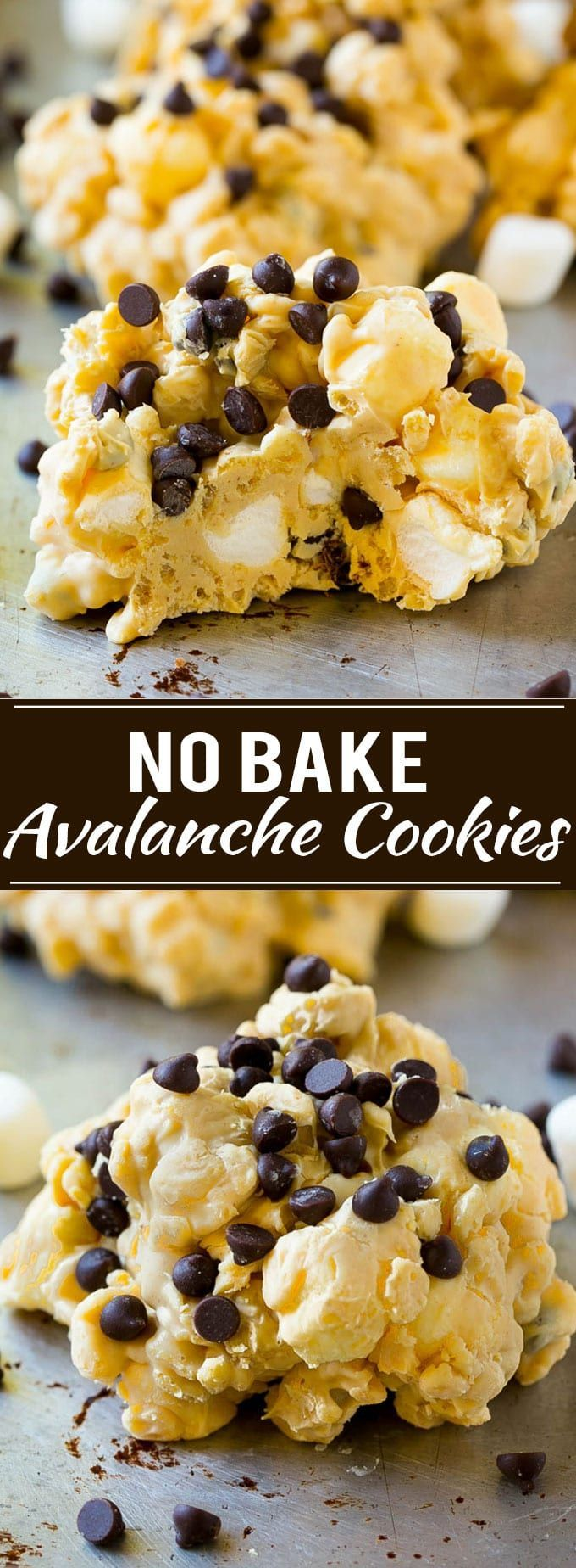 Avalanche Cookies Recipe   No Bake Cookie Recipe   Easy Cookie Recipe   Avalanche Bark