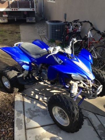 2006 yamaha yfz450 4 wheeler blue for sale in oakdale ca atv pinterest cas for sale and in. Black Bedroom Furniture Sets. Home Design Ideas