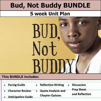 bud not buddy lesson plans include daily lessons fun activities essay ...