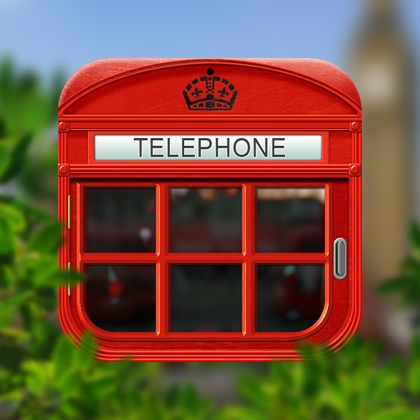 Telephone booth icon design by Lidiya Bogdanovich. - Best Mobile Designers In…