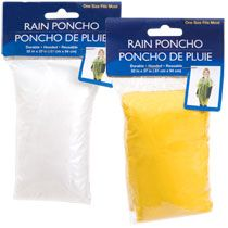 Bulk Plastic Rain Ponchos at DollarTree.com