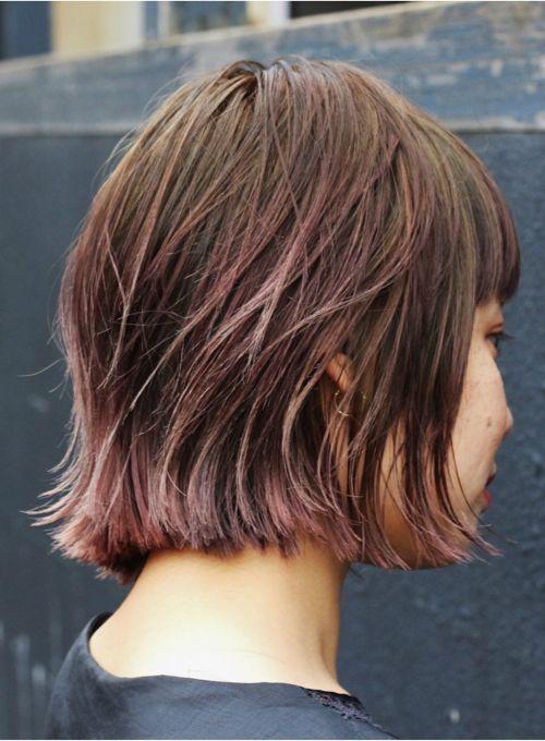 切りっぱなしスリークボブ【roraima】 アゴラインで切りっぱなしにしたスリークな質感のボブです! 首元が綺麗に見える長さに設定したボブは、切りっぱなしにする事で今っぽさを出しました!丸顔、面長など、顔の形を選ばすトライできます! ≪#mediumhair #mediumstyle #mediumhairstyle #hairstyle #ミディアム #ヘアスタイル #髪形 #髪型 ≫