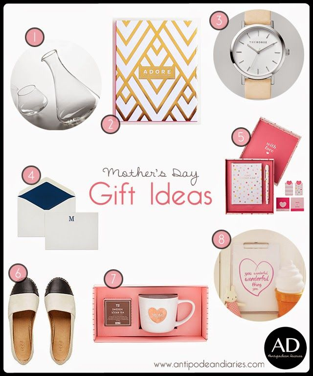 Antipodean Diaries: MOTHER'S DAY GIFT IDEAS