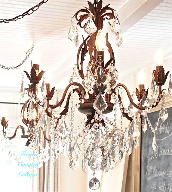 Best 25 french country chandelier ideas on pinterest french inspired and romantic living entertaining traveling and decorating in a french country cottage in the california countryside aloadofball Image collections