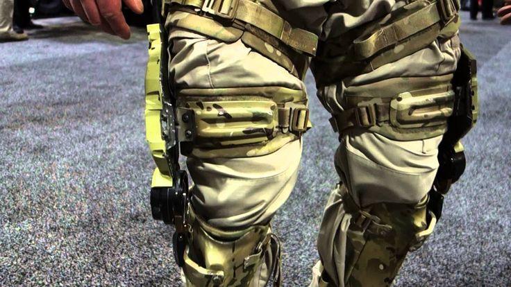 Revision Military PROWLER Human Augmentation System (HAS) Exoskeleton