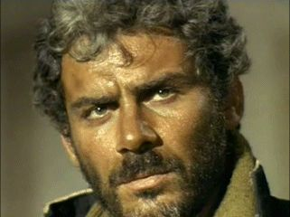 """Indio. Bandit. Gian Maria Volonte. """"For a few Dollars More""""."""