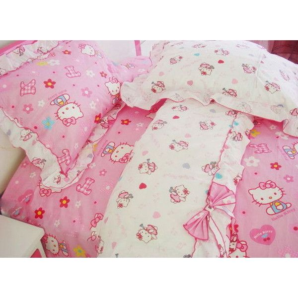 Pin By Bowie On Room Decor Hello Kitty Bed Kawaii Room Cute