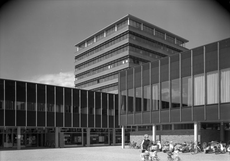 Architecture Photography by Teigens Fotoatelier, 1964. DEXTRA Photo, CC BY