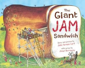 The Giant Jam Sandwich-1972-by John Vernon Lord - one of my favs!  Olive loves it too.