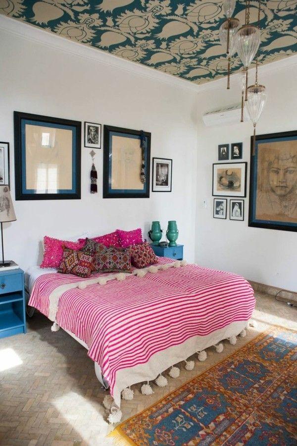 Die besten 25+ Funky schlafzimmer Ideen auf Pinterest Funky - schlafzimmer ideen pink