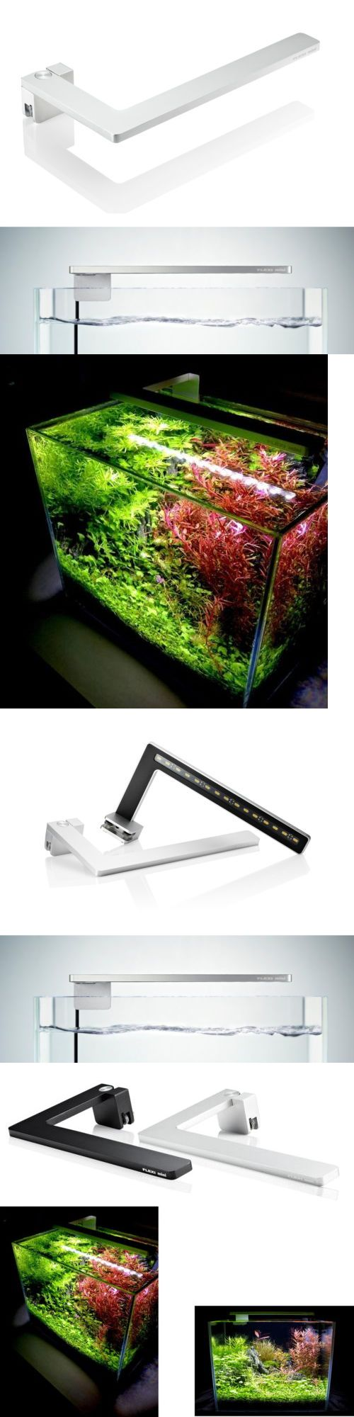 Nano led aquarium fish tank lighting - Animals Fish And Aquariums Azoo Led Flexi Mini Nano Light Full Spectrum Lighting