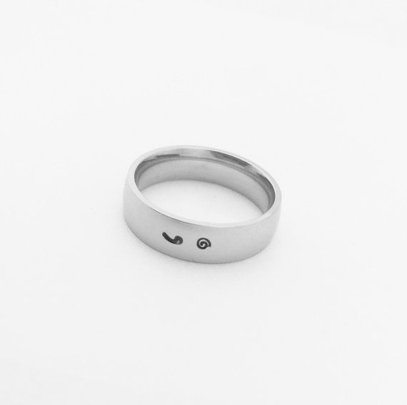 Semicolon Ring My story isn't over yet by 3sweetpeasjewelry