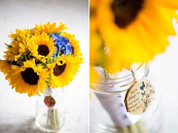 Sommerhochzeit mit Sonnenblumen (4)