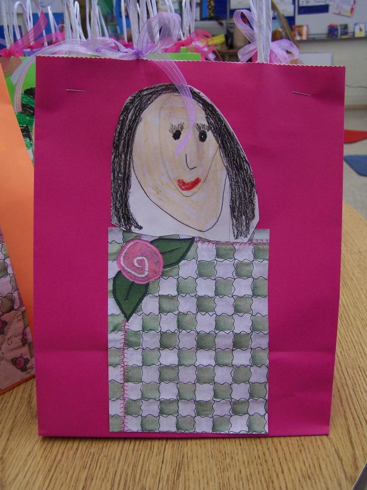 Mother s day gift bag breakfast in bed kindergarten