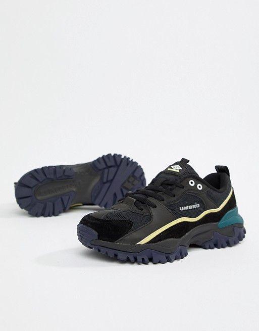 c95a7ac80750 Umbro Bumpy Sneakers in Black in 2019 | shoesies | Sneakers, Asos, Healthy  work snacks