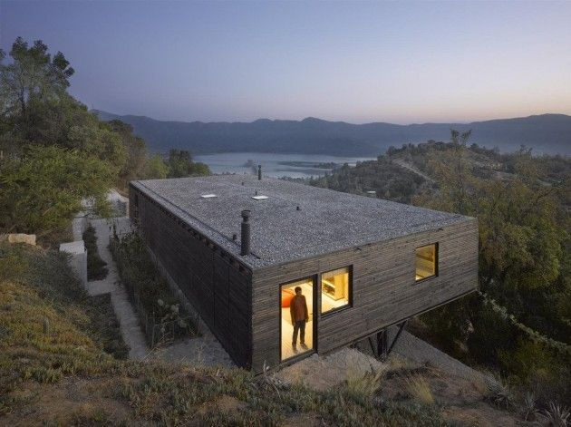 "Mathias Klotz and Magdalena Bernstein designed the ""Raul House"" near Santiago, Chile."