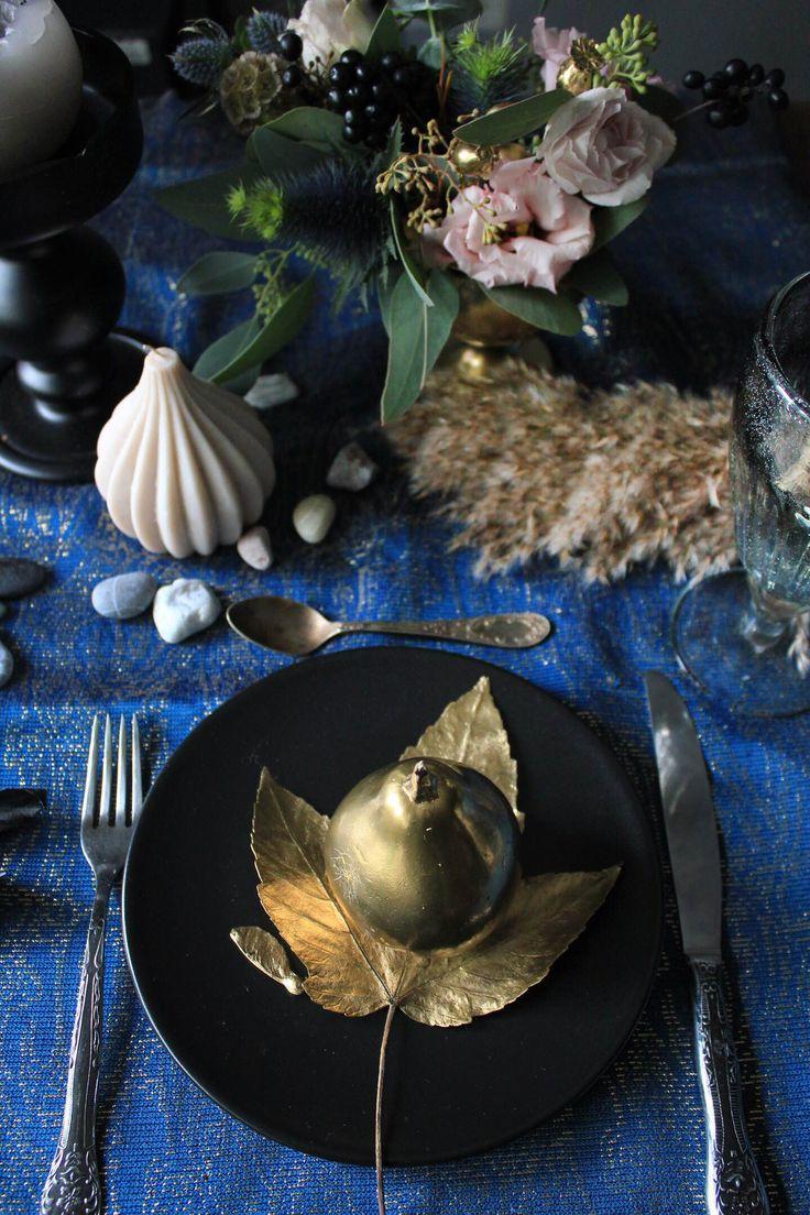 Autumn table decor