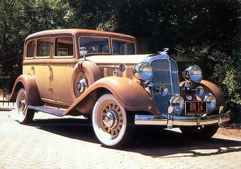 1933 Chrysler Model CT Eight Royal Sedan