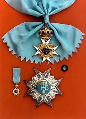 Orden de los serafines Suecia