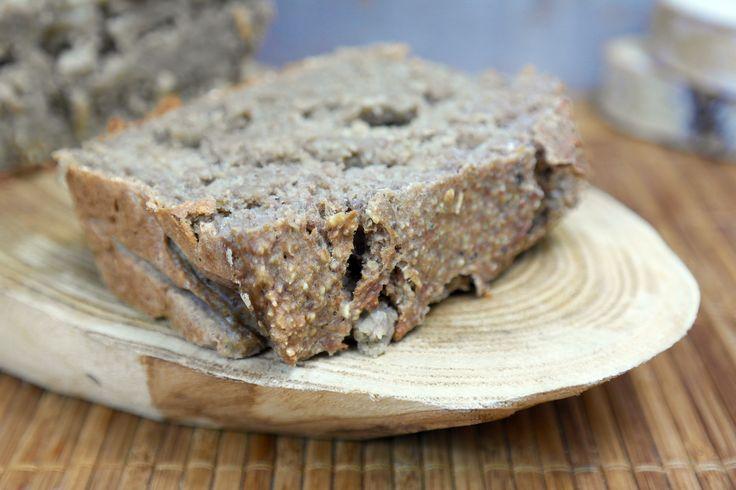 Verrukkelijk en voedzaam, vullend brood! Daar kom je de komende uren wel even mee door! Dit heb je nodig: 300 gram geweekte/gekookte linzen ( ik heb bruine