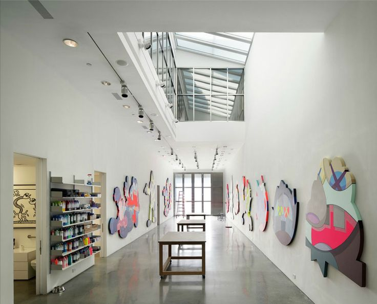 KAWS Brooklyn Studio by Masamichi Katayama   Yellowtrace