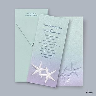 Get these gorgeous princess-inspired invitations. | 33 Subtle Ways To Add Your Love Of Disney To Your Wedding