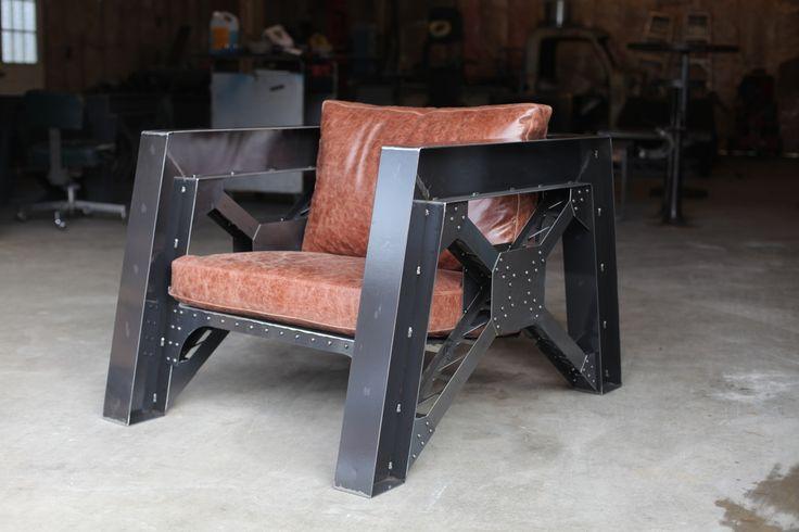 Steel Truss Chair | Factory | www.factorycustomfab.com