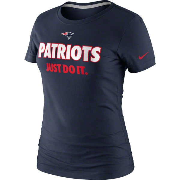 New England Patriots #Nike Women's #JustDoItT-Shirt $27.99 http://www.newenglandusa.com/New-England-Patriots-Pro-Shop/new-england-patriots-womens-apparel.php