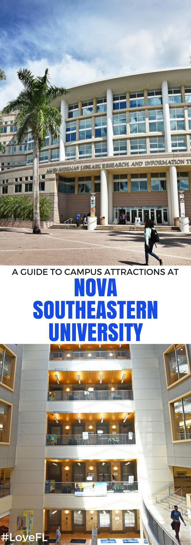 A Guide to Campus Attractions at Nova Southeastern University | #Florida #College #Travel