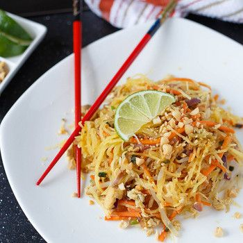 Spaghetti Squash Pad Thai-whaaa? So excited to try this!