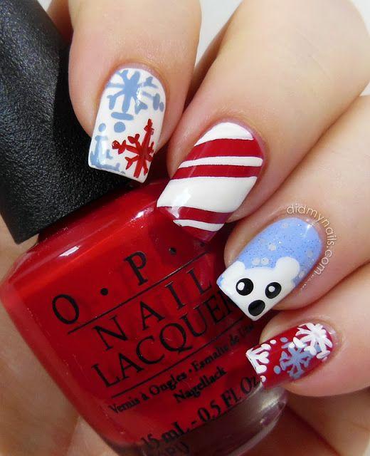 Actual Christmas Nail Art - Did My Nails
