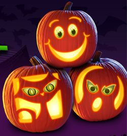pumpkin carving templates free - Google Search