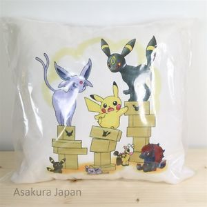 Pokemon-Center-Online-Mini-Cushion-2-Pikachu-Umbreon-Espeon-Zoroark-Pillow