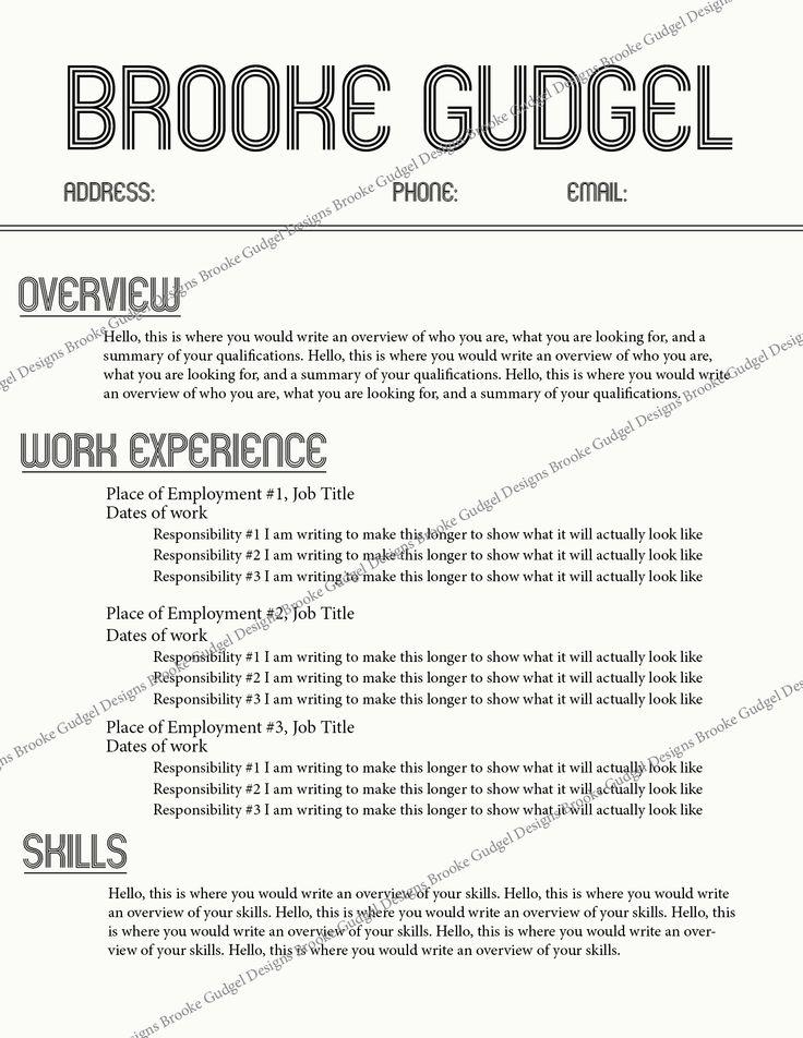 retro resume contact brookegudgelgmailcom rush sorority resume - Sorority Resume Template