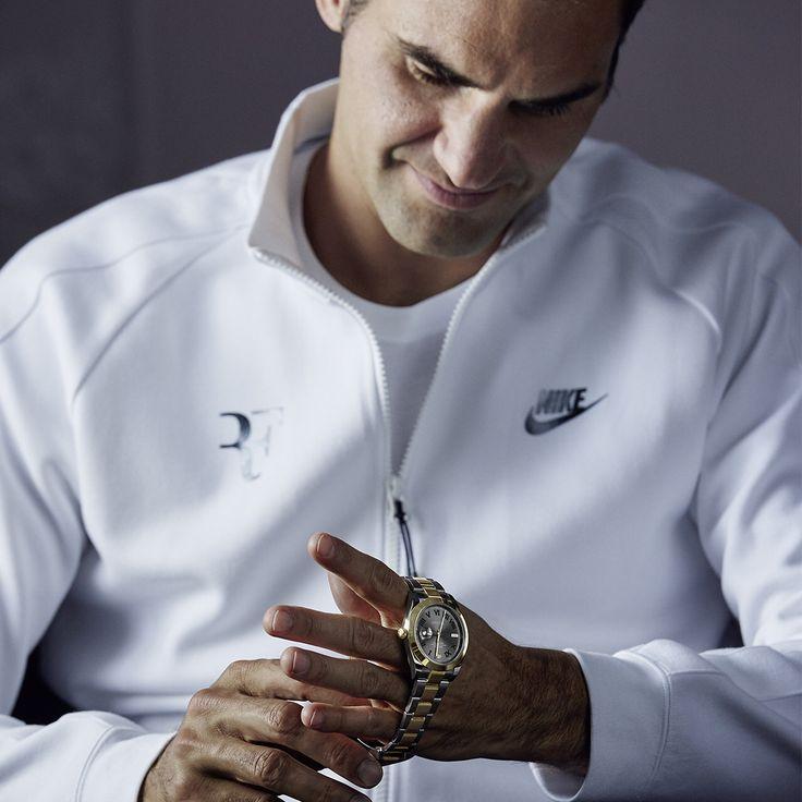 Roger Federer for Rolex