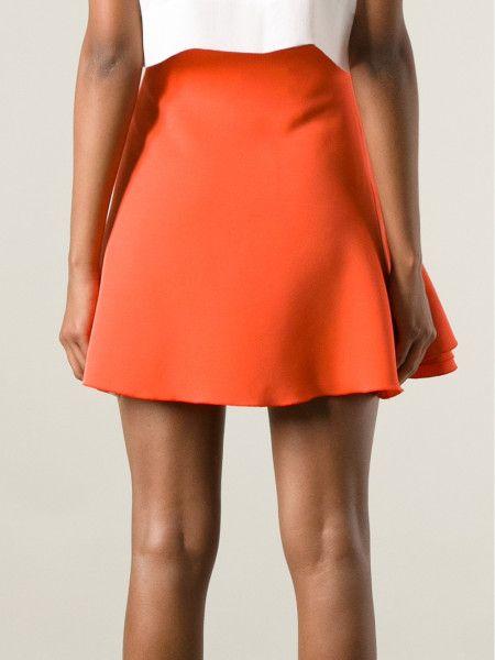 #VictoriaBeckham Flared Skirt #swing