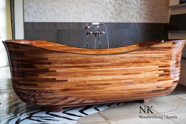 I am in love with this tub. It is so beautiful .