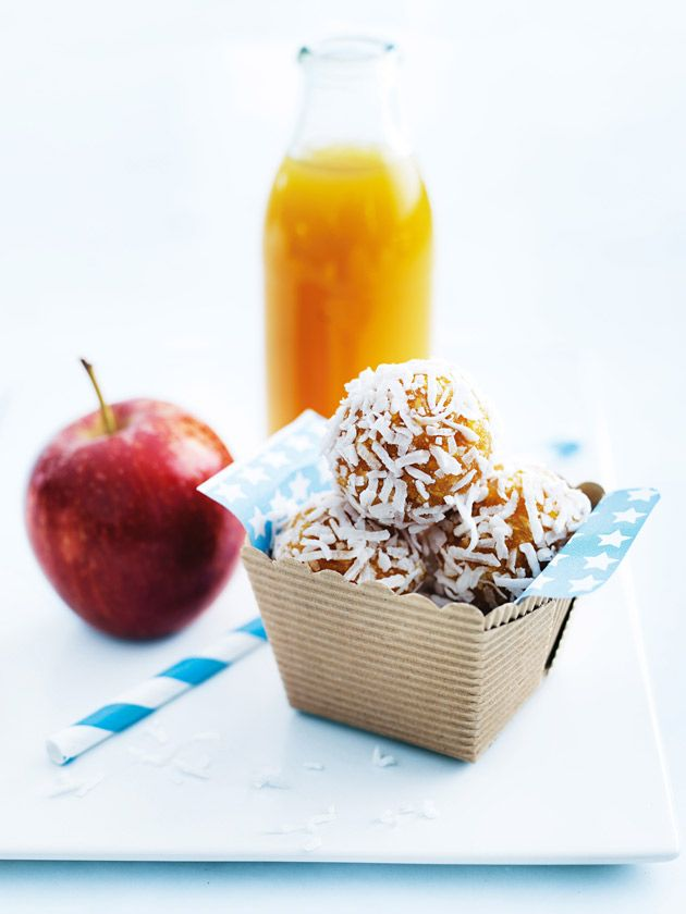 apricot and coconut balls