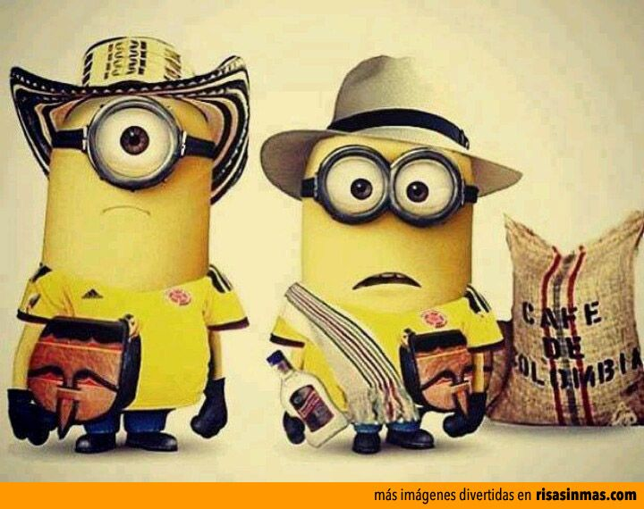 Minions cafeteros.