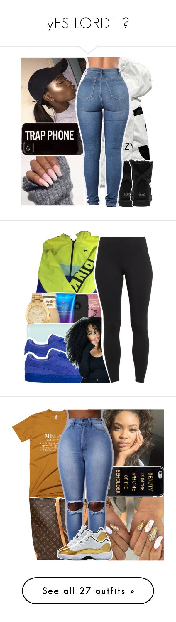"""yES LORDT 😻"" by longlostputa ❤ liked on Polyvore featuring UGG Australia, Victoria's Secret, Paul Smith, Maidenform, Louis Vuitton, iHome, Hope, H&M, MICHAEL Michael Kors and Puma"