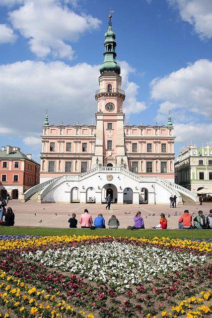 Old City of Zamość Poland