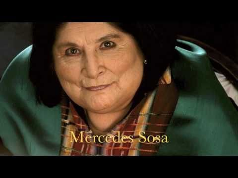 "Written by León Gieco and recorded by Sosa and Gieco in l984, this is a song that reflects well ""the voice of the voiceless ones"" as she was referred to. Also known as ""La Negra"" (for her Diaguitan origin), Sosa performed Argentine music/folk songs, Brazilian and Cuban music as well as a tribute to Chilean poet Violeta Parra in 1971. That song, ..."