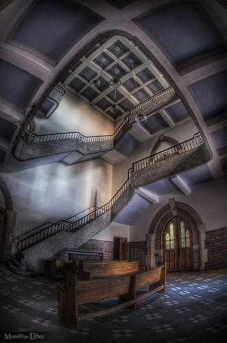 St Hilarius An abandoned monastery in Belgium