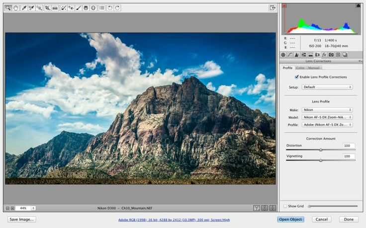 Open Raw Files From Light Room In Photoshop