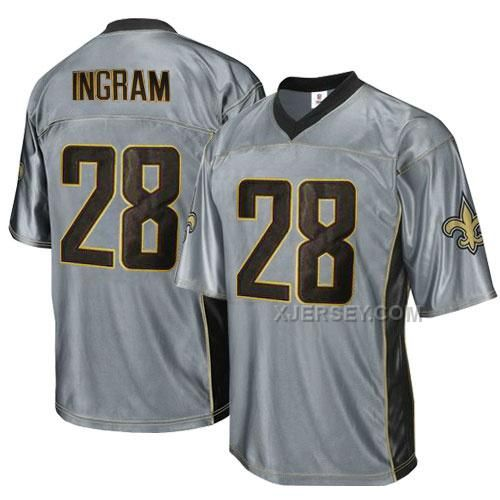 http://www.xjersey.com/saints-28-ingram-grey-jersey.html SAINTS 28 INGRAM GREY JERSEY Only $34.00 , Free Shipping!