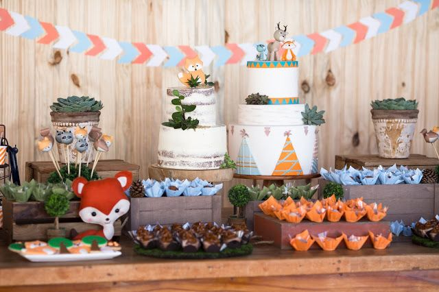 bella_fiore_decoração_festas_infantil_acampamento_bosque_floresta_raposa_laranja_azul bella_fiore_decor_kids_party_camping_wood_florest_fox_orange_blue